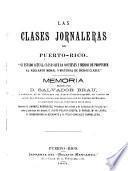 Las clases jornaleras de Puerto-Rico