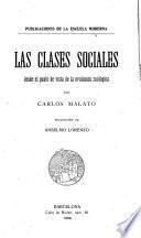 Las clases sociales desde el punto de vista de la evolución zoológica