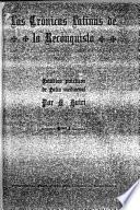 Las crónicas latinas de la reconquista