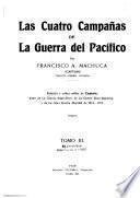 Las cuatro campañas de la Guerra del Pacífico: Campaña de Lima. Bibliografía (verso 3d prelim. leaf)