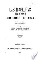 Las diabluras del tirano Juan Manuel de Rosas