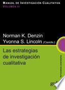 Las estrategias de investigación cualitativa