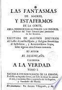 Las fantasmas de Madrid y estafermos de la Corte
