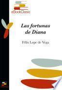 Las fortunas de Diana (Anotado)