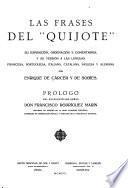 Las frases del Quijote
