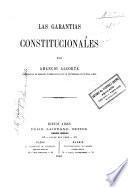 Las garantias constitucionales