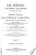 Las heregías, los cismas y los errores de todos los siglos, 1