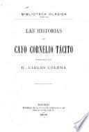 Las historias de Cayo Cornelio Tácito