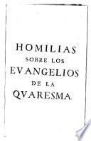 Las homilias sobre los evangelios de la quaresima