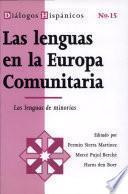 Las lenguas en la Europa Comunitaria