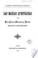 Las Marías apostólicas
