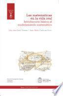 Las matemáticas en la vida real: introducción básica al modelamiento matemático