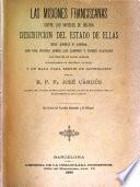 Las misiones franciscanas entre los infieles de Bolivia