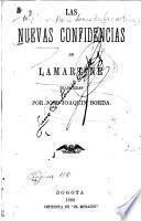 Las nuevas confidencias de Lamartine