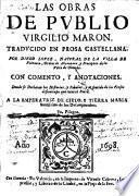 Las obras de Publio Virgilio Maron. Traducido ... por D. Lopez, etc