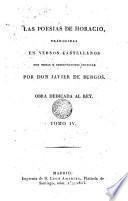 Las Poesias de Horacio, 4