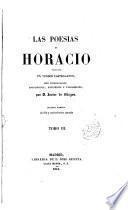 Las poesías de Horacio