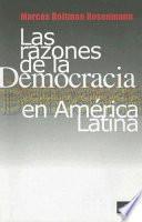 Las razones de la democracia en América Latina