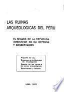 Las ruinas arqueológicas del Perú