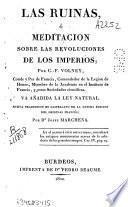 Las ruinas, o meditación sobre las revoluciones de los imperios