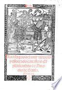 Las sergas del muy virtuoso y efforcado cavallero Esplandian, hijo de Amadis de Gaula