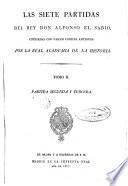 Las Siete Partidas del Rey Don Alfonso X, el Sabio, 2