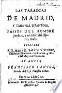 Las tarascas de Madrid