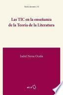 Las TIC en la enseñanza de la Teoría de la Literatura