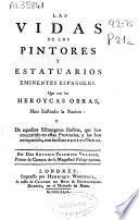 Las vidas de los pintores y estatuarios eminentes españoles
