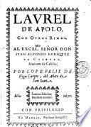Laurel de Apolo, con otras rimas