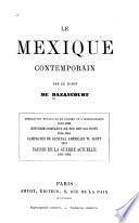 Le Mexique contemporain