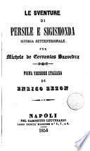 Le Sventure di Persile e Sigismonda,3