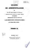Lecciones de administración: (1843)