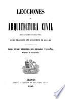 Lecciones de arquitectura civil