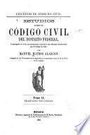 Lecciones de derecho civil: Tratado de cosas