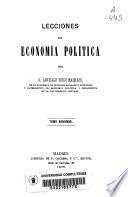 Lecciones de economía política