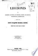 Lecciones de elocuencia en general, de elocuencia forense, de elocuencia parlamentaria y de improvisación