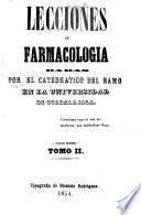 Lecciones de farmacología