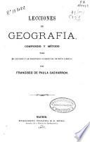 Lecciones de geografía
