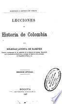Lecciones de historia de Colombia