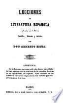 Lecciones de literatura española
