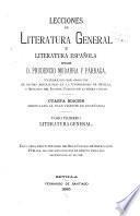 Lecciones de literatura general y literatura española