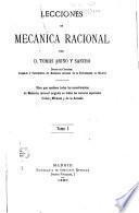 Lecciones de mecánica racional