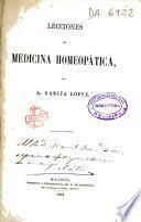 Lecciones de medicina homeopática