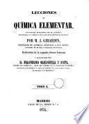 Lecciones de química elemental ... explicadas los domingos en la Escuela Municipal de Ruan, 1