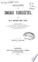 Lecciones de zoología farmacéutica