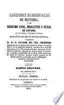 Lecciones elementales de Historia y de Derecho Civil, Mercantil y Penal de España