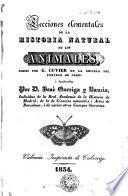Lecciones elementales de la historia natural de los animales,1