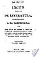 Lecciones elementales de literatura