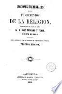 Lecciones elementales de los fundamentos de la religión